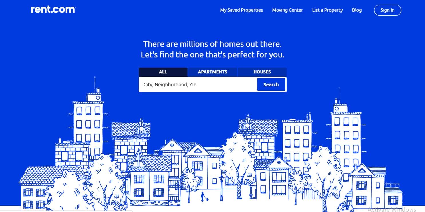 rent - אתרים שימושיים