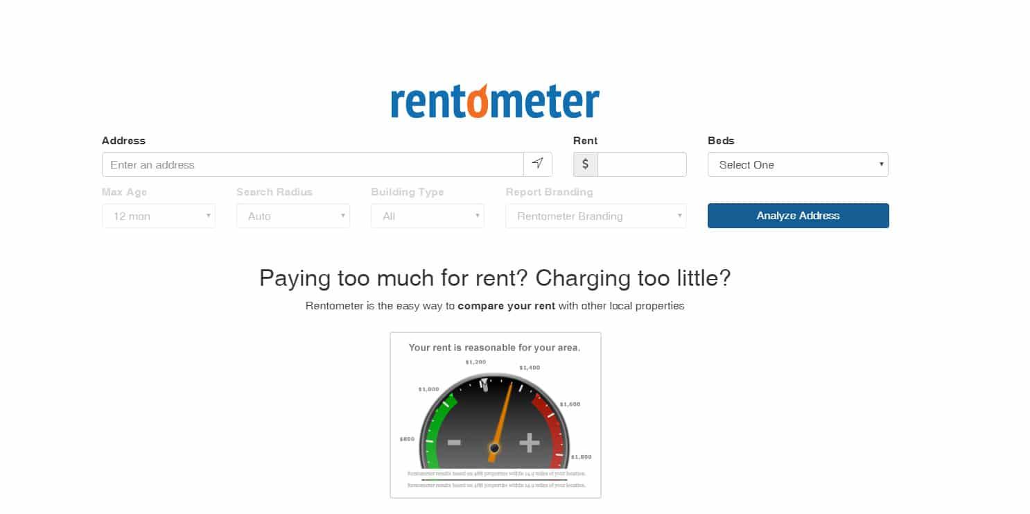 rentometer - אתרים שימושיים